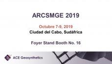 Visita a ACE Geosynthetics en el evento sudafricano: 17th ARCSMGE!