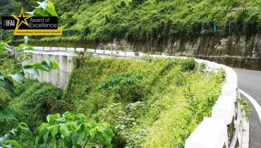 Rehabilitación del Talud, Ruta 35, Condado de Pintung, Taiwán