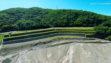 Rehabilitación del Talud, Tai-Ruta 9, Pingtung, Taiwán