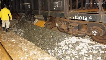 Uso de ACETex® en el tratamiento de la subrasante ferroviaria