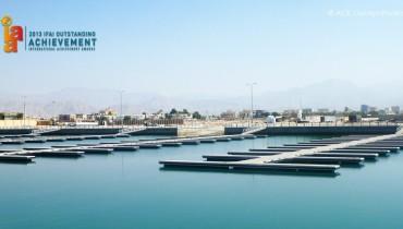 ACETube® - El proyecto del Rompeolas que contiene arena en forma de L en Emiratos Árabes Unidos