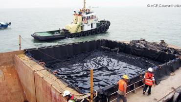 Eliminación de Materiales de Dragado, Proyecto: Wan Chai Fase de Desarrollo II, Puerto de Victoria, Hong Kong