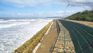 Protección Costera, Parque Eólico Xiangshan, Hsinchu, Taiwán