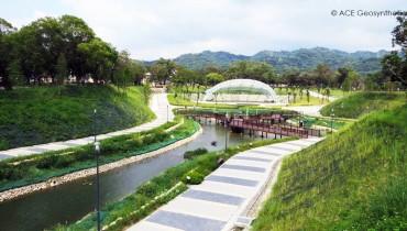 Un Parque Ecológico con ACEMat™ R – Parque Forestal Taichung Pinglin