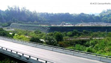 Expansión del relleno sanitario de la ciudad ZhuQi Condado de Chiayi, Taiwán