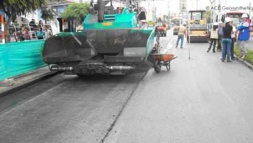 Réhabilitation de la chaussée en réponse à l'augmentation du trafic et à la fissuration par réflexion, Colombie, Amérique du Sud