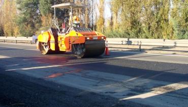 Réhabilitation de la chaussée en asphalte, Chili