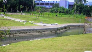 Amélioration de l'environnement, fleuve Han, Taichung, Taiwan