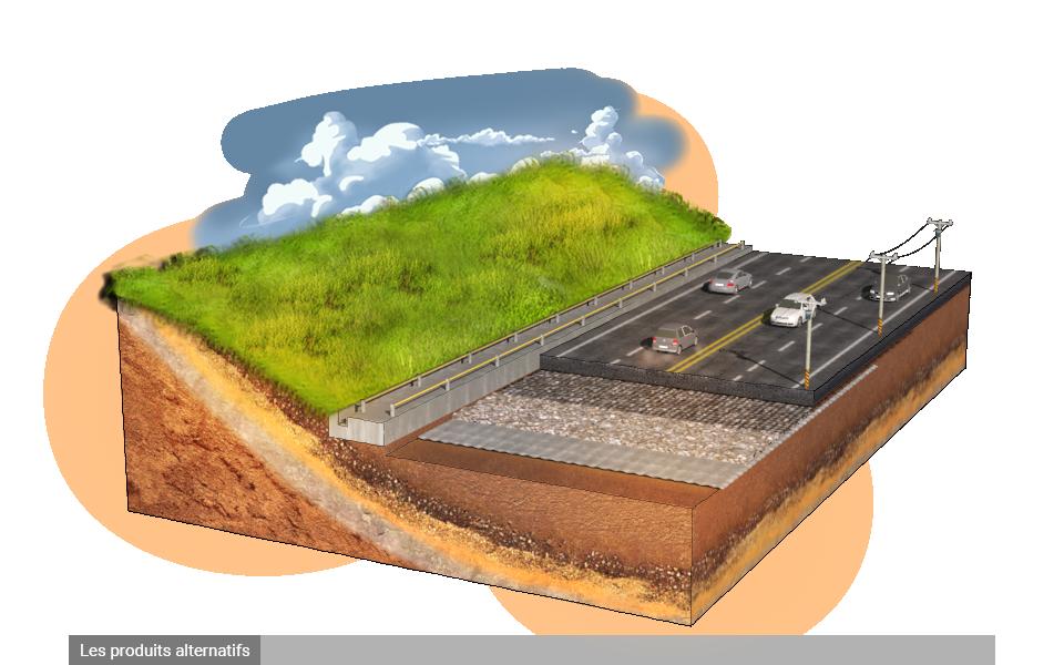 Combler les vides souterrains et les dolines