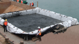 ACEContainer™- PP woven monolithic geotextile with high strength and permeability