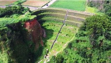 Wrap-Around Reinforced Retaining Wall for Collapsed Slope Remediation