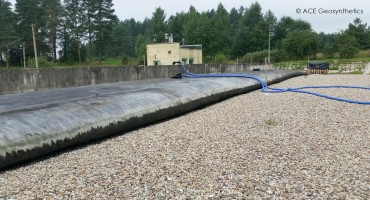 Sludge Dewatering in a Sewage Treatment Plant, Lithuania