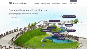 """ACE Geosynthetics EcoPark"" is Online"