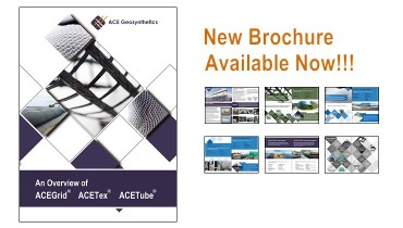 New brochure of ACE Geosynthetics is available online