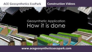Dig into geosynthetic applications in ACE Geosynthetics EcoPark website