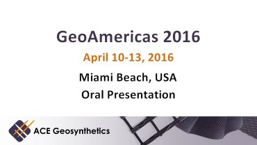 Speech presentation at GeoAmericas 2016 Conference