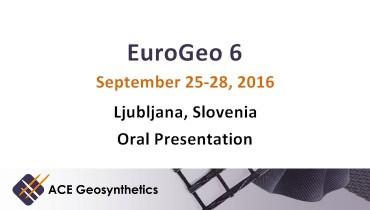 ACE Geosynthetics presents hydraulic application at EuroGeo 6, Slovenia