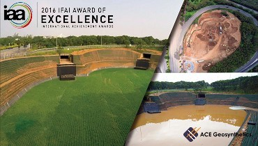 ACE Geosynthetics receives the 2016 International Achievement Award