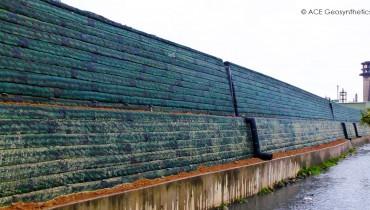 Reinforced Earth Embankment, Taiwan Pavilion Expo Park, Hsinchu, Taiwan