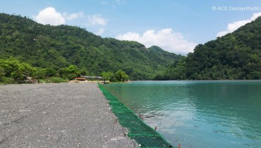 The Multifunctional Uses of ACEBag™ for Dredged Soil Containment and Cofferdam Construction, Nantou, Taiwan