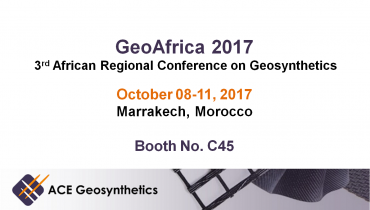 Visit ACE Geosynthetics at GeoAfrica 2017