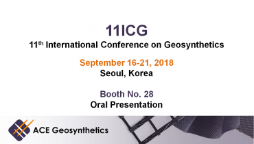 Meet ACE Geosynthetics in Seoul, Korea - 11ICG