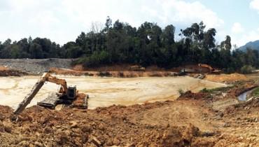 Use Geotextile Tube as Mine Slurry Dewatering Treatment