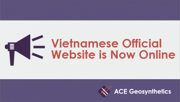 ACE Geosynthetics Vietnamese Official Website is Now Online