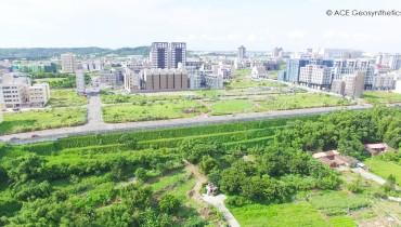 Reinforced Earth Embankment, Miaoli, Taiwan