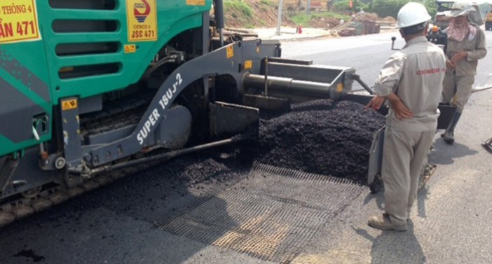 Widely used for Road Asphalt Reinforcement