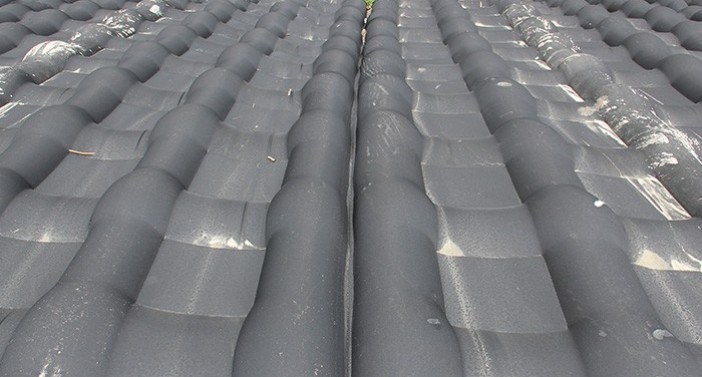 Geotextile concrete mattress with excellent permeability