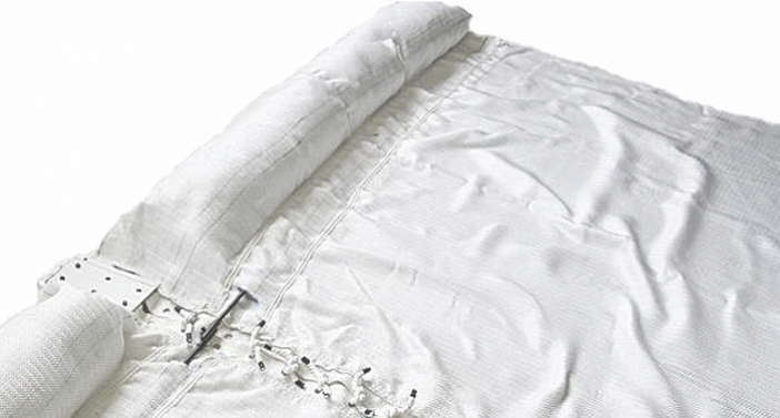ACECurtain™- PET or PP woven geotextile fabricated into silt curtain