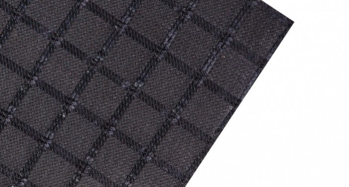 ACECompo™ GC- Geocompostie of PET grid and thermally-bonded nonwoven geotextile with bitumen coating
