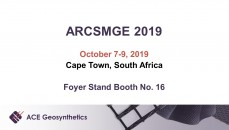 Visit ACE Geosynthetics at The 17th ARCSMGE in South Africa!