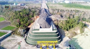 Application of Geogrid Reinforced Structure for Abutment Construction, Taichung, Taiwan