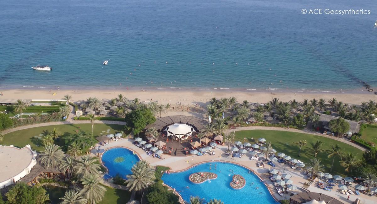 Enriquecimiento de playas con ACETube® en UAE