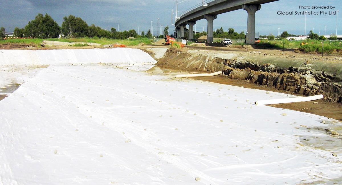 Mejoramiento al suelo, proyecto para la mejora de la autopista de Brisbane, Queensland, Australia