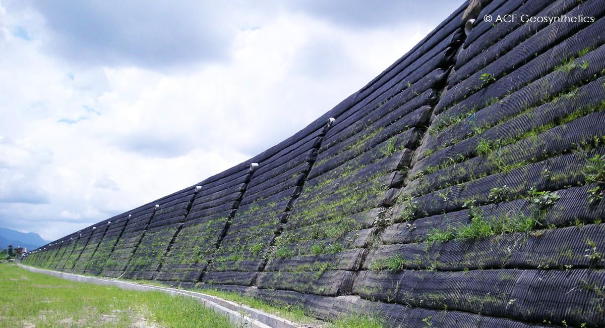 Công trình tường đất chắn gia cố Diệu Âm Tịnh Viên, Liên Đài, Huyện Miao Li, Đài Loan