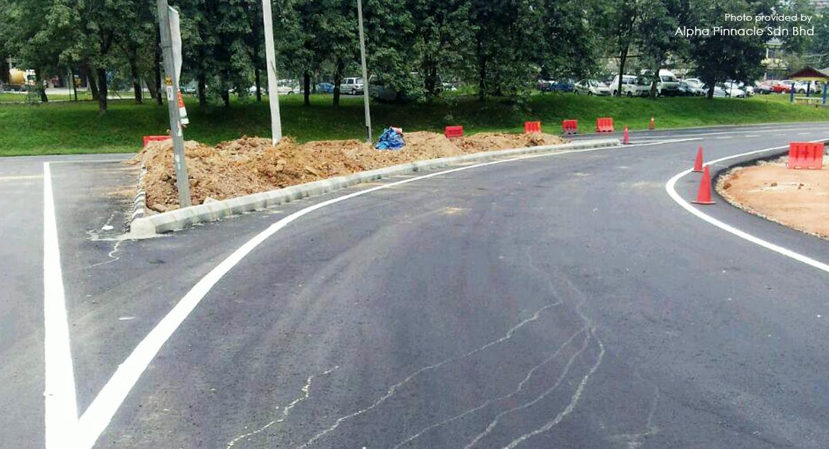 Widening and Intersections Improvement, Highway N17, Jempol, Negeri Sembilan, Malaysia