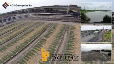 ACE Geosynthetics honored with the 2015 IFAI Award of Excellence