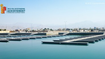 Công trình đê chắn sóng cảng biển mới, Ras Al Khaimah, UAE