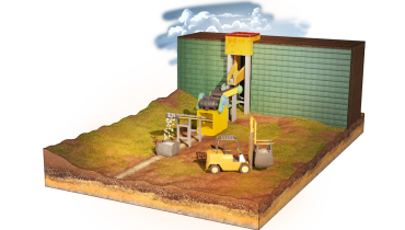 Ổn định tường mỏ