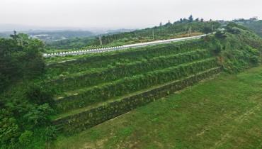 Công trình xanh tại Đài Loan - Dự án trùng tu mái đốc bị hư hỏng nghiêm trọng